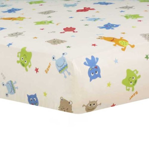 Baby Monster Fitted Sheet – same as in set