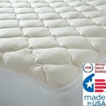 Extra Plush Bamboo Top Mattress Pad