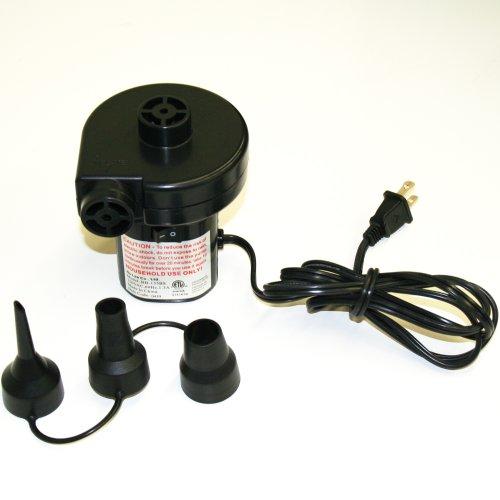 Smart Air Beds A/C Electrical Air Bed Pump (110-125v 60Hz, Black)