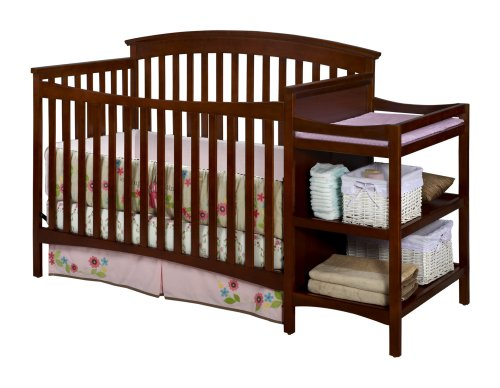 Delta Children's Products Walden Crib and Changer, Spice Cinnamon