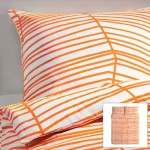 IKEA Odestrad Full Queen 3pc Duvet Quilt Cover Set