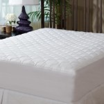 Mattress Pad Cover – Fitted – Quilted – Twin (39×75″) – Stretches to 16″ Deep!