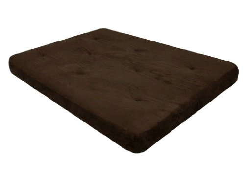 DHP 6-Inch Futon Mattress, Chocolate Brown
