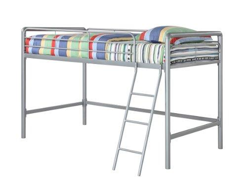 Dorel Home Products Junior Loft Bunk, Silver