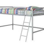 Dorel Home Products Junior Loft Bunk, Silver