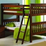 Bunk Bed Twin Over Twin Convertible (Espresso)