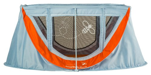 Parentlab JourneyBee Portable Crib, Dusk/Orange
