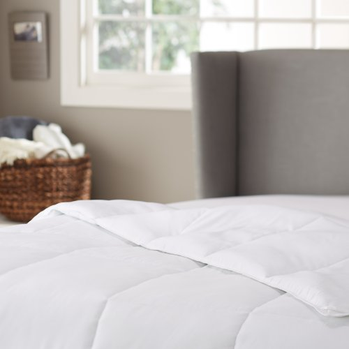Pinzon Basics Hypoallergenic Down Alternative Year Round Comforter, Full/Queen