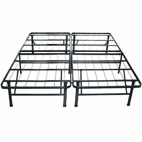 Sleep Master Platform Metal Bed Frame/Mattress Foundation, Twin