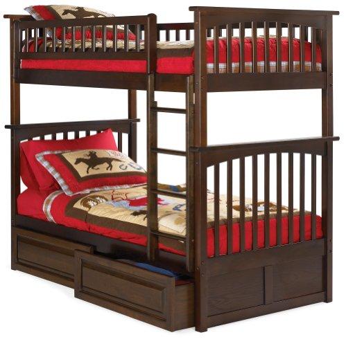 Atlantic Furniture AB55224 Columbia Bunk Kids Bed