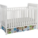 Delta Children's Products Winter Park 3-in-1 Convertible Crib, White