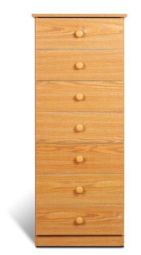 Prepac Oak 7-Drawer Lingerie Chest