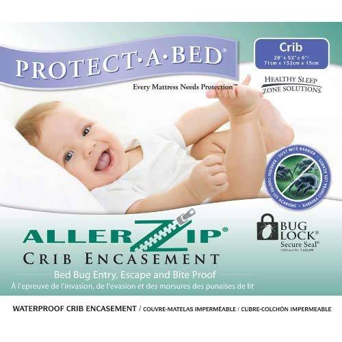 Protect-A-Bed Allerzip Crib Encasement