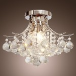 LightInTheBox Chrome Finish Crystal Chandelier with 3 lights