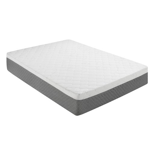Sleep Innovations 12-Inch Gel Swirl Memory Foam Mattress, Queen