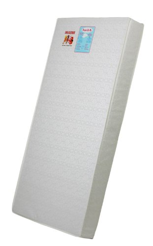 Dream On Me 5″ Foam Quilted Mattress, Bear Print