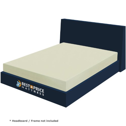Best Price Mattress 6-Inch Memory Foam Mattress, Queen