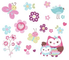 Summer Wall Decals, Who Loves You