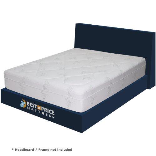 Best Price Mattress 12-Inch Memory Foam Mattress with 3-Inch Memory Foam and 3-Inch Pressure Relief System, King