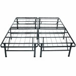 Best Price Mattress New Innovated Box Spring Platform Metal Bed Frame/Foundation, King
