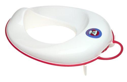 BABYBJORN Toilet Trainer – White/Red
