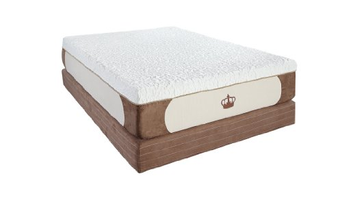 DynastyMattress New Cool Breeze 12-Inch Gel Memory Foam Mattress-Queen Size