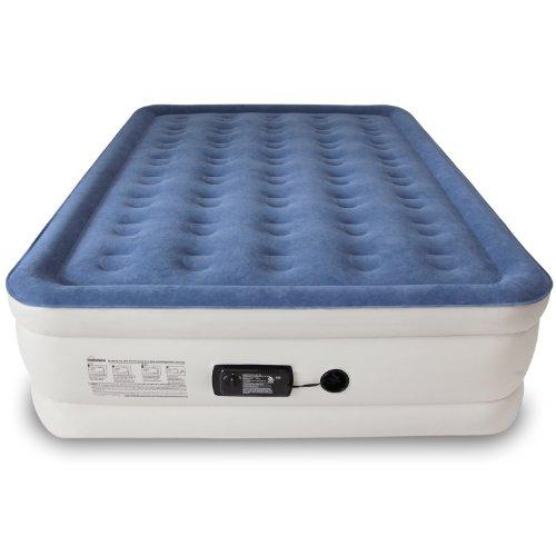 SoundAsleep Dream Series Air Mattress with ComfortCoil Technology & Internal High Capacity Pump [2014 MODEL]