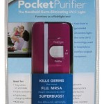 Purely Products 5004P-P Hand Held Pocket Purifier, Pink