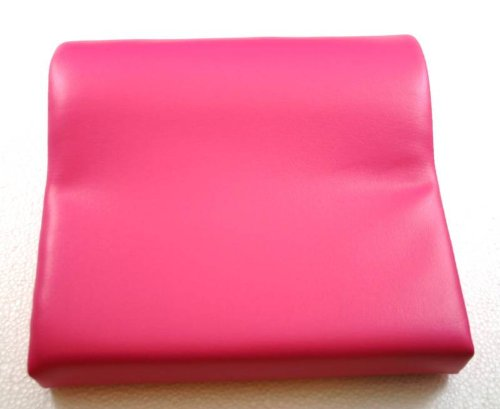 Deluxe Pink Contour Vinyl Tanning Bed Pillow