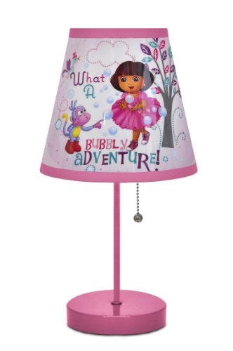 Nickelodeon Dora Table Lamp