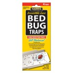 Bed Bug Traps w/irresistible lures (4 pk)