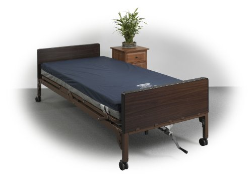 Drive Medical ShearCare 1100 3 Layer Memory Foam Pressure Redistribution Foam Mattress 80 Inch Elevated Perimeter