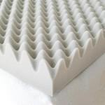 Milliard 2-Inch Egg Crate Ventilated Memory Foam Mattress Topper, Queen