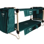Disc-O-Bed Cam-O-Bunk Cot with 2 Organizers and Leg Extensions, X-Large