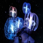 eFashion Avatar Sacred Tree Seed Light USB Voice-activated Color-changing LED Night Light Bedroom Lamp