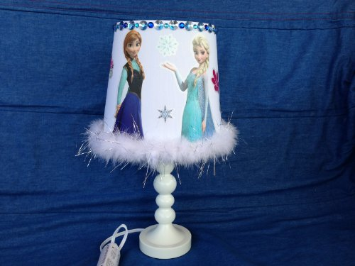 Disney Frozen Elsa Lamp Bedroom Night Light Custom