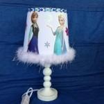 Disney Frozen Elsa Lamp Bedroom Night Light Custom