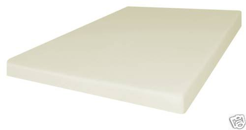 Queen Size 4 Inch Firm Conventional Polyurethane Foam RV/Truck Mattress Bed Cushion USA Made