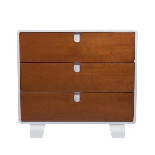 Bloom Retro Dresser in Multiple Finishes (Oak)