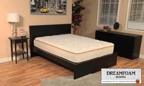 Dreamfoam Bedding Ultimate Dreams Crazy Quilt Pillow Top Mattress, Queen