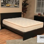 Dreamfoam Bedding Ultimate Dreams Crazy Quilt Pillow Top Mattress, Queen