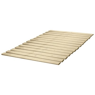 Classic Brands Wooden Bed Slats Bunkie Board Frame for Any Mattress Type, Queen