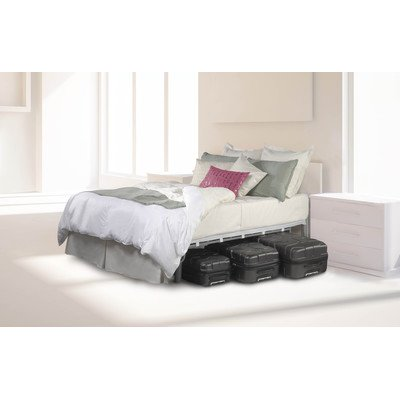 Forever Store More Mattress Foundation Size: Queen