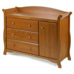 Stork Craft Aspen Combo Dresser Oak