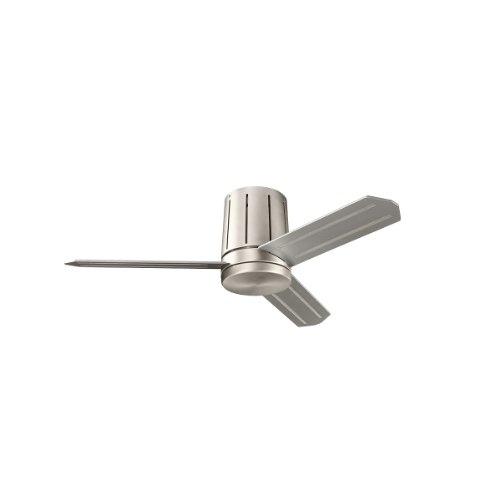 Kichler Lighting 300130NI Innes II 42-Inch Flush Mount Ceiling Fan, Brushed Nickel Finish with Reversible Blades and Etched Opal Glass Downlight