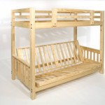 Futon Bunk Bed – Frame Only – Eco-friendly – Solid Wood – USA