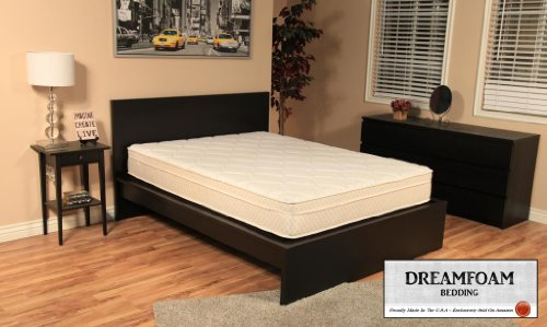 DreamFoam Bedding Ultimate Dreams 9-Inch Crazy Euro Top mattress, Twin