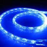 10Ft Rope Lights; Ocean Blue LED Rope Light Kit; 1.0″LED Spacing; Christmas Lighting; outdoor rope lighting