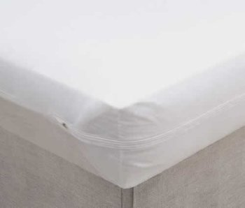 Vinyl Mattress Protector 6 Gauge – Zippered (9′ depth) Twin Size