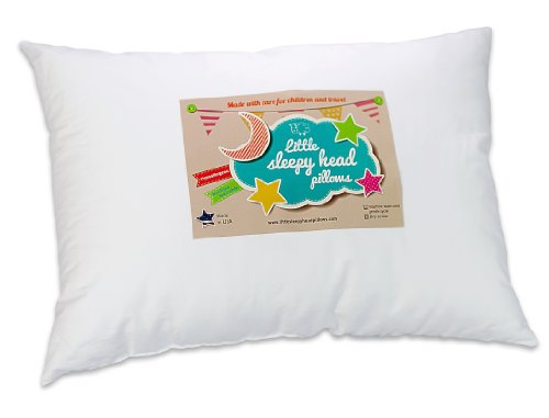 Toddler Pillow – Soft Hypoallergenic – Best Pillows for Better Neck Support and Sleeping! They Will Take a Better Nap in Bed, a Crib, or Even on the Floor at School! Makes Travel Comfier in a Car Seat or on an Airplane! Backed by Our 90-Day No-Questions Asked Guarantee!